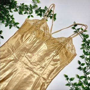 Victoria's Secret 🔥CLEAROUT🔥 Gold & Lace Nighty